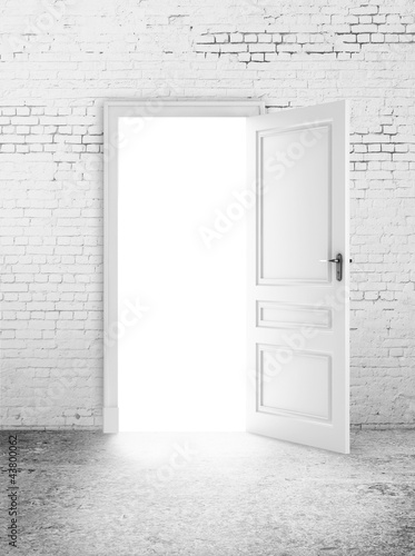 open door  light