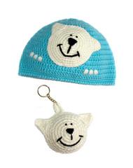 children's knitted hat a handmade