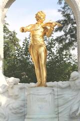 monument of Johann Strauss