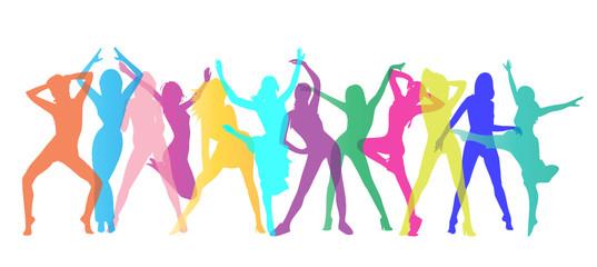 Tanzende Figuren