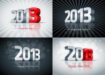 2013 Happy New Year Set
