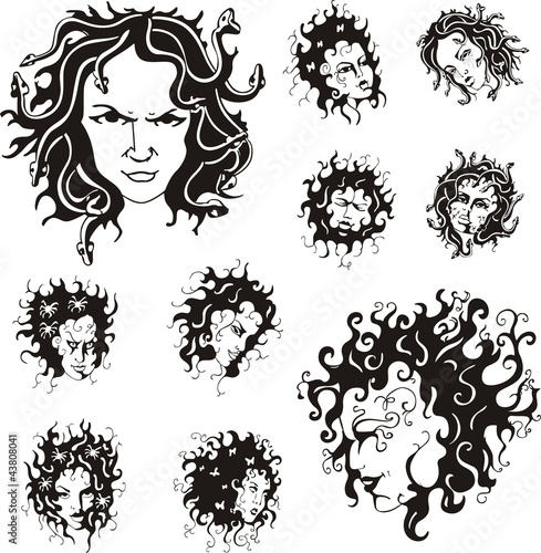 Medusa faces
