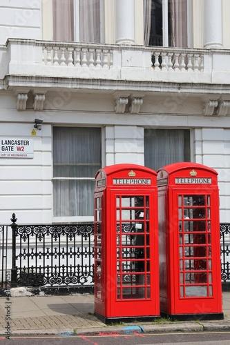 cabines téléphoniques de Londres - 43809051