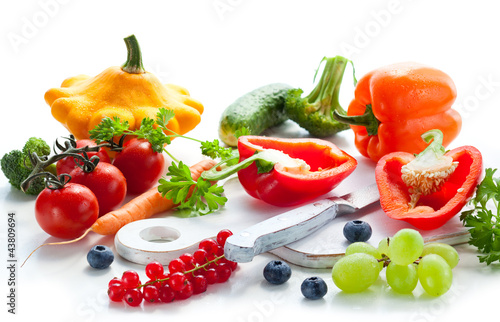 vegetables,fruits and berries