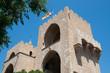 Valencia - Serranos Towers, the interior medieval facade
