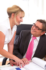 Flirt am Arbeitsplatz