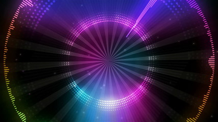 Disco dance background.