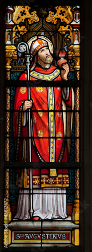 Saint Augustine - Stained Glass window