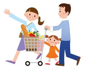 家族でお買い物