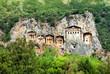 Famous Lycian Tombs, Turkey
