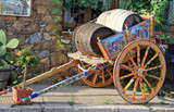 Traditional sicilian cart