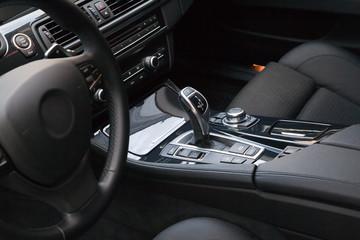 New modern car interior