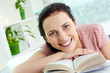 Happy reader