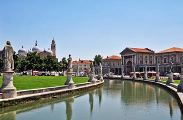 Padova, piazza Prato della Valle