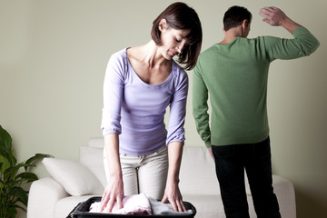 Couple having problems,