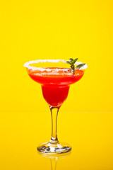 Watermelon martini drink