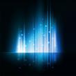Blue magic light