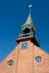 Detail Dutch reformed church