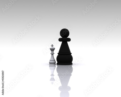 Chess 3D - Metaphor