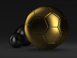 Soccer balls - concept illustration