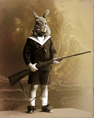 lapin chasseur