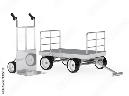 transport hand truck and trolley