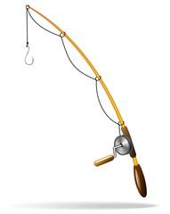 Canna da Pesca-Fishing rod-Vector