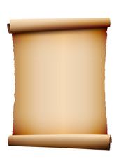 alte Schriftrolle - Vektorelement