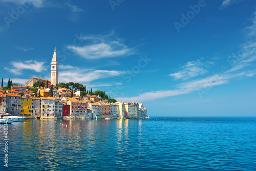 view of Rovinj, Croatia