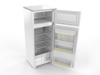 Refrigerator (open)