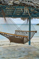 Hammock, Hut, & Beach