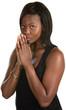 Cautious Black Woman