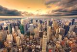 Fototapety Crépuscule sur New York.