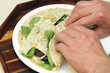 Spinach Cheese Wrap
