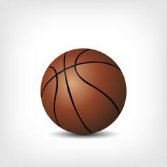 Basketball isoliert