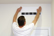 Man Covering Air Vent