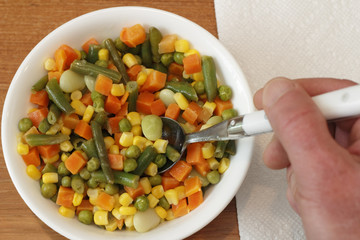 Mixed Vegetables Meal