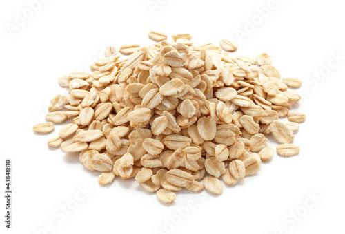Fotobehang Granen oatmeal