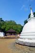 Buddist stupa at Natha Devalaya in Kandy,Sri Lanka