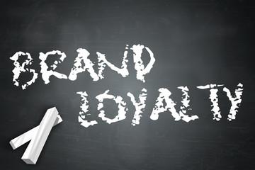 """Blackboard """"Brand Loyalty"""""""