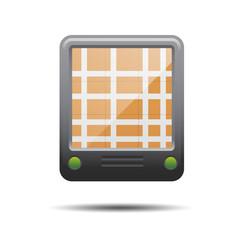 Icono GPS 3D