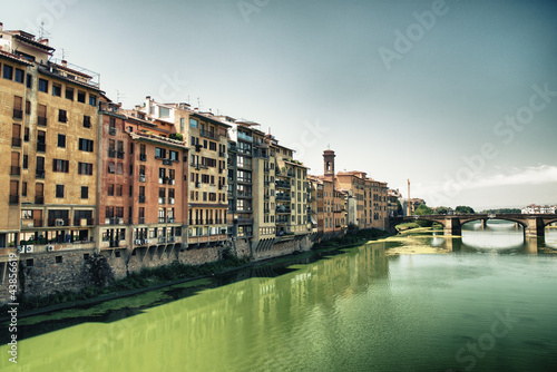 Ponte Vecchio over Arno River - Old Bridge in Florence