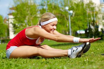 Fitness in park