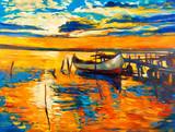 Fototapety Oil painting