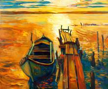 Bateau et ponton