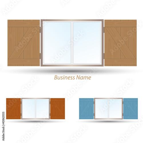 logo window shutter
