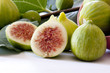 fig with leaf
