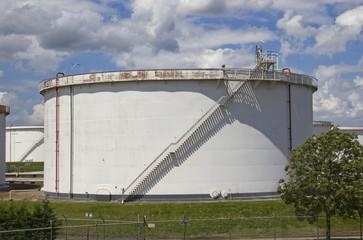 Large Oil Silo