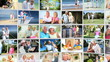 Montage Collection Older Couples Retirement Lifestyle