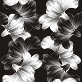 Beautiful vector flower background - 43866694